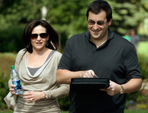 Dave Goldberg and Sheryl Sandberg